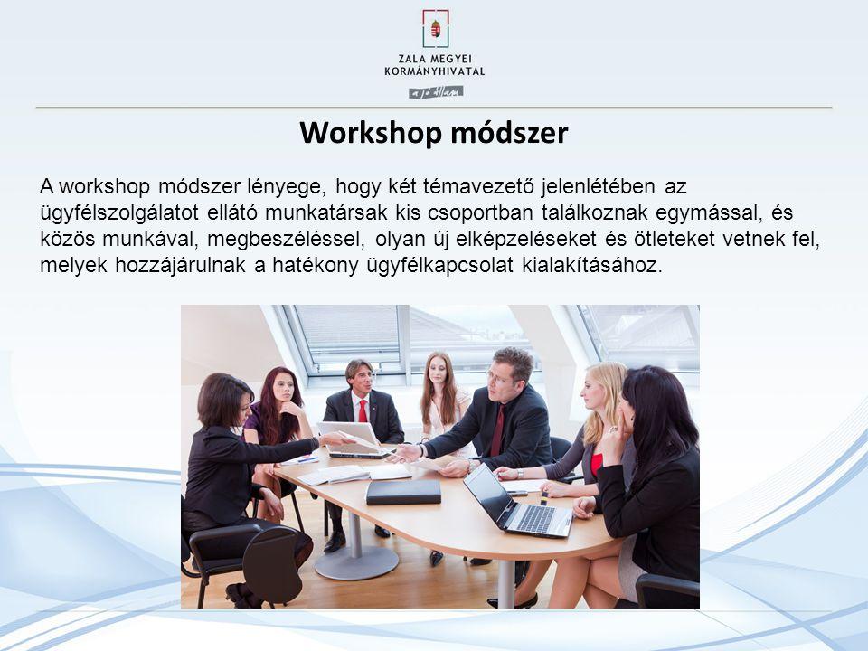 Workshop módszer