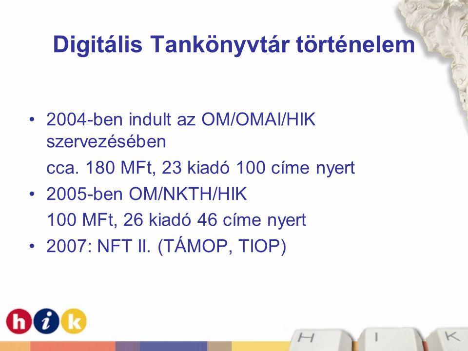 Digitális Tankönyvtár történelem