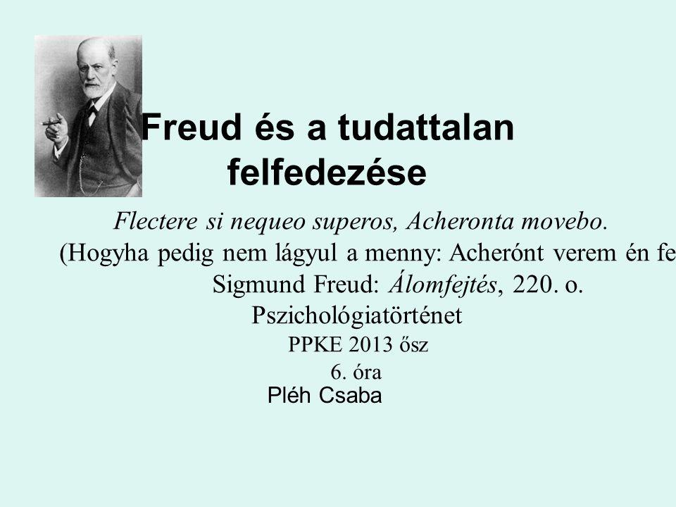 Freud és a tudattalan felfedezése