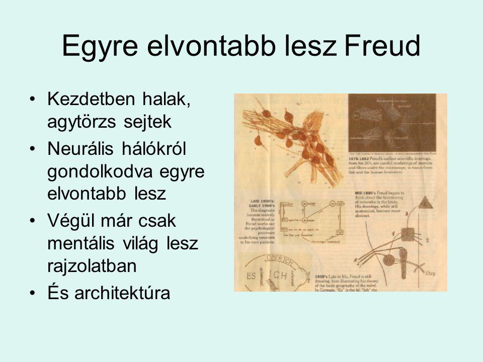 Egyre elvontabb lesz Freud