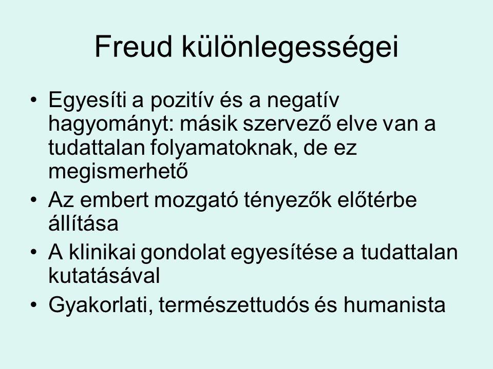 Freud különlegességei