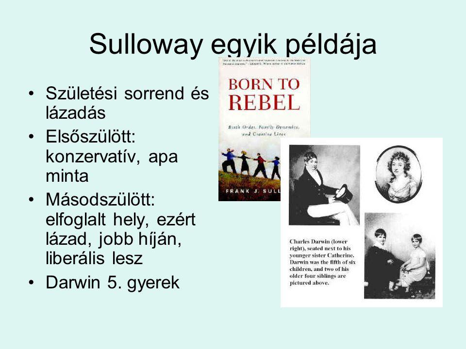 Sulloway egyik példája