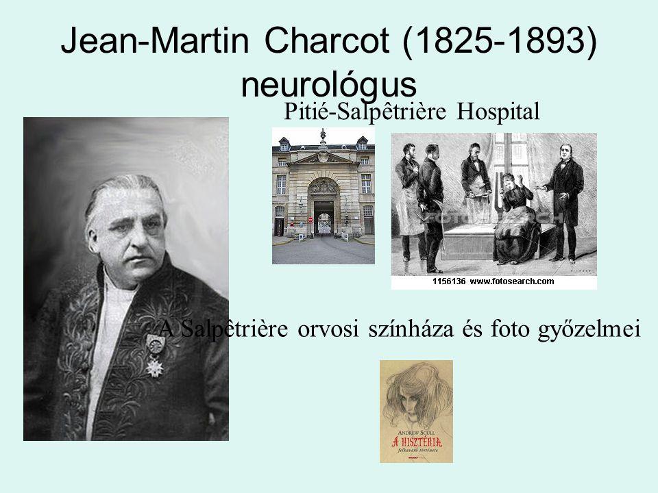 Jean-Martin Charcot (1825-1893) neurológus