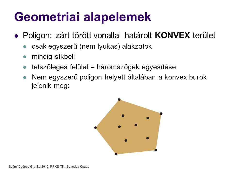 Geometriai alapelemek