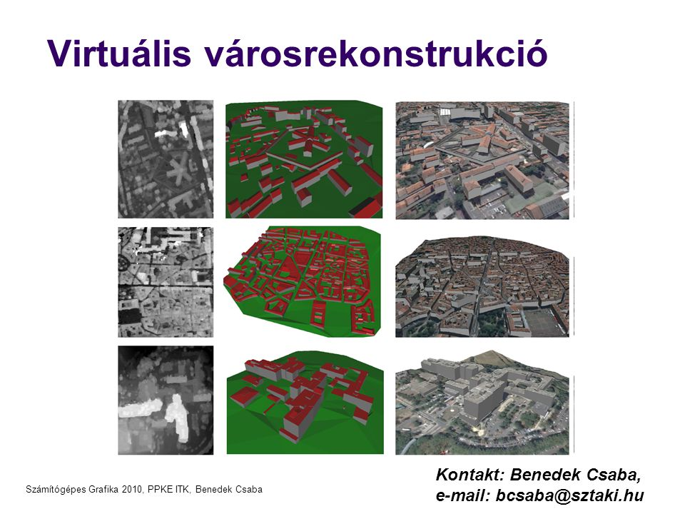 Virtuális városrekonstrukció