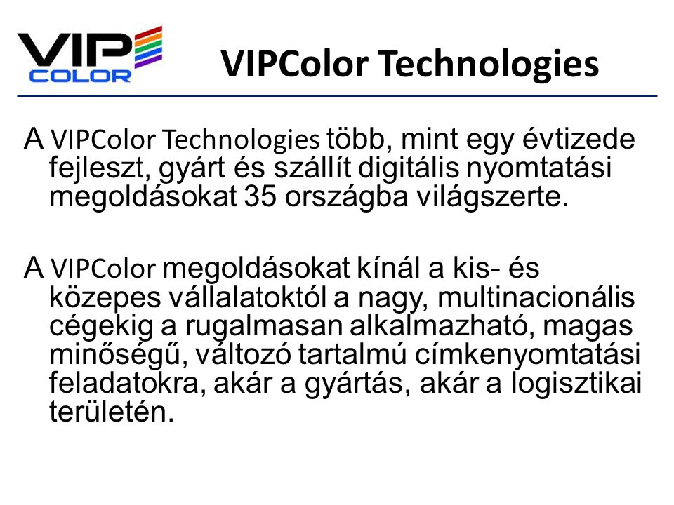 VIPColor Technologies