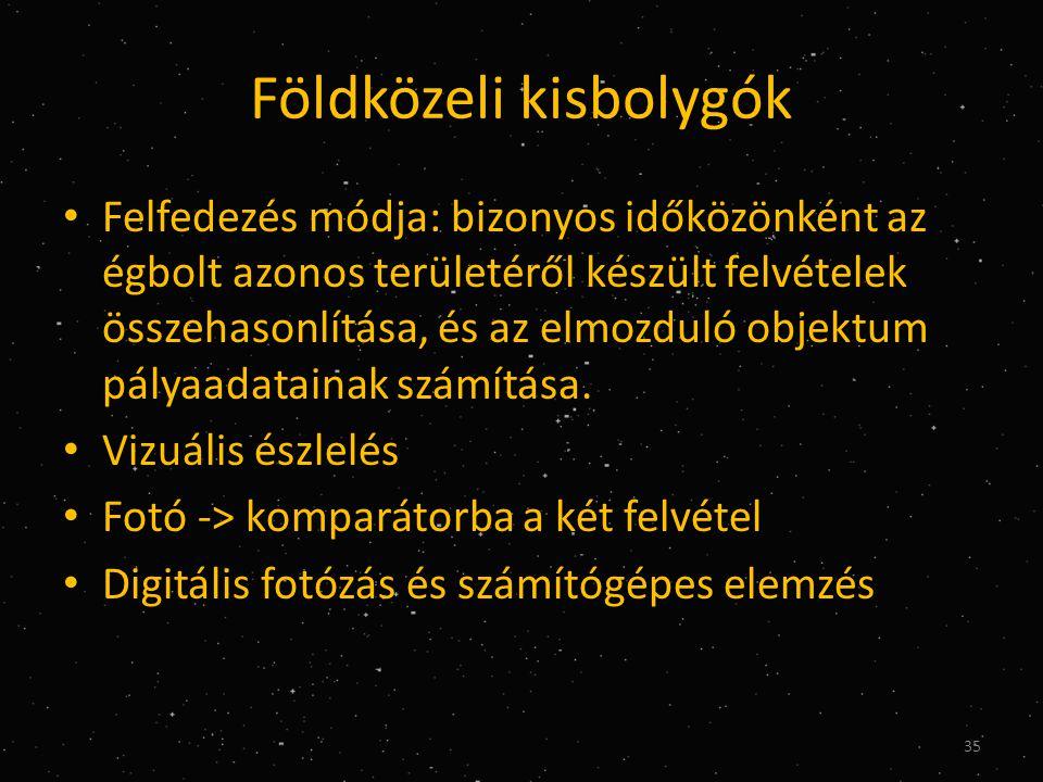 Földközeli kisbolygók