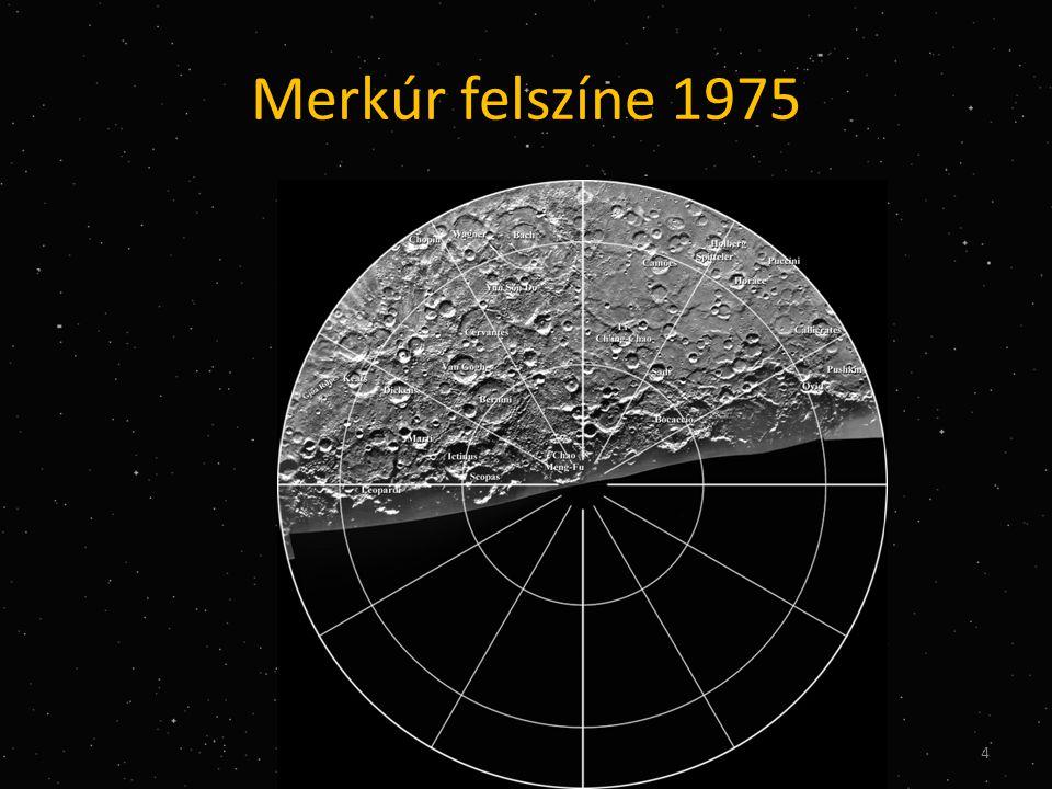 Merkúr felszíne 1975