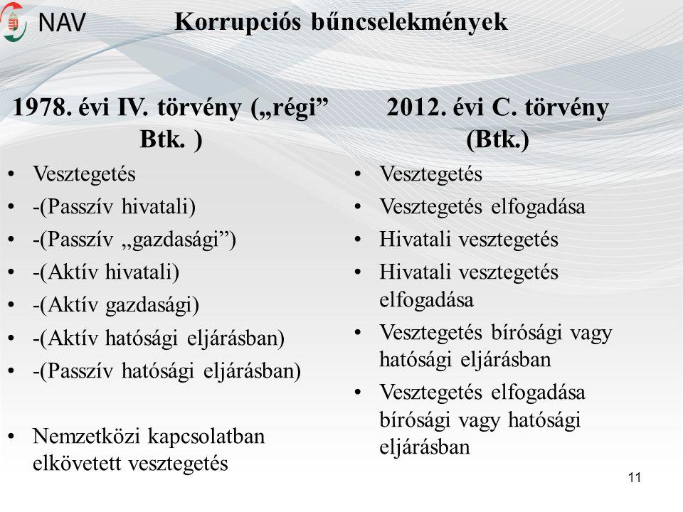 Korrupciós bűncselekmények