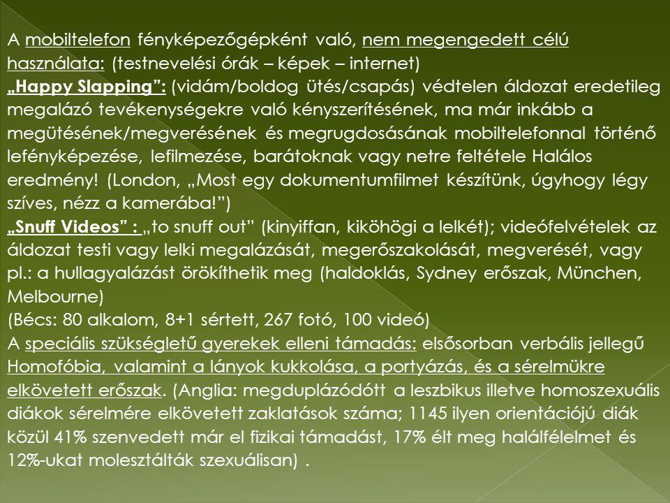 (Bécs: 80 alkalom, 8+1 sértett, 267 fotó, 100 videó)