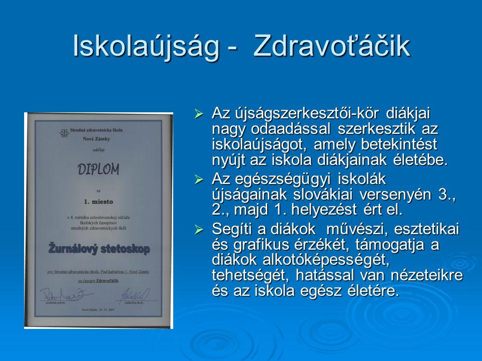Iskolaújság - Zdravoťáčik