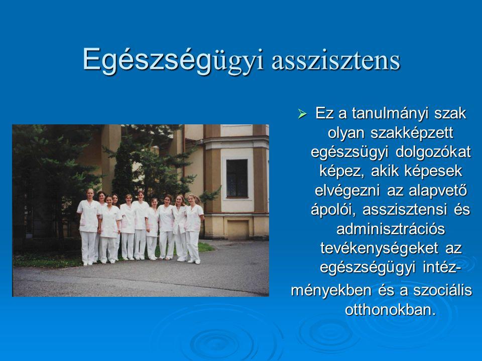Egészségügyi asszisztens