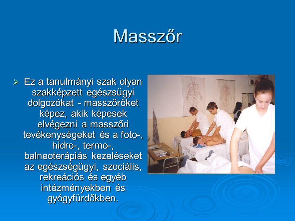 Masszőr