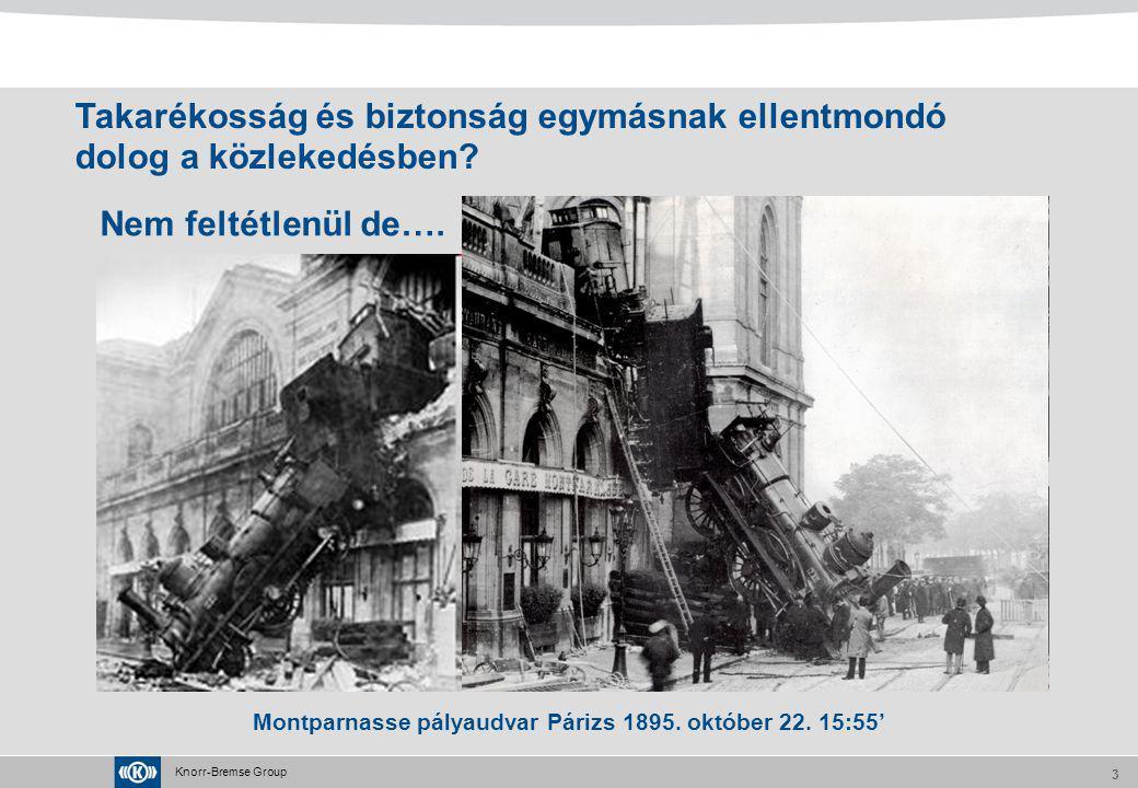 Montparnasse pályaudvar Párizs 1895. október 22. 15:55'