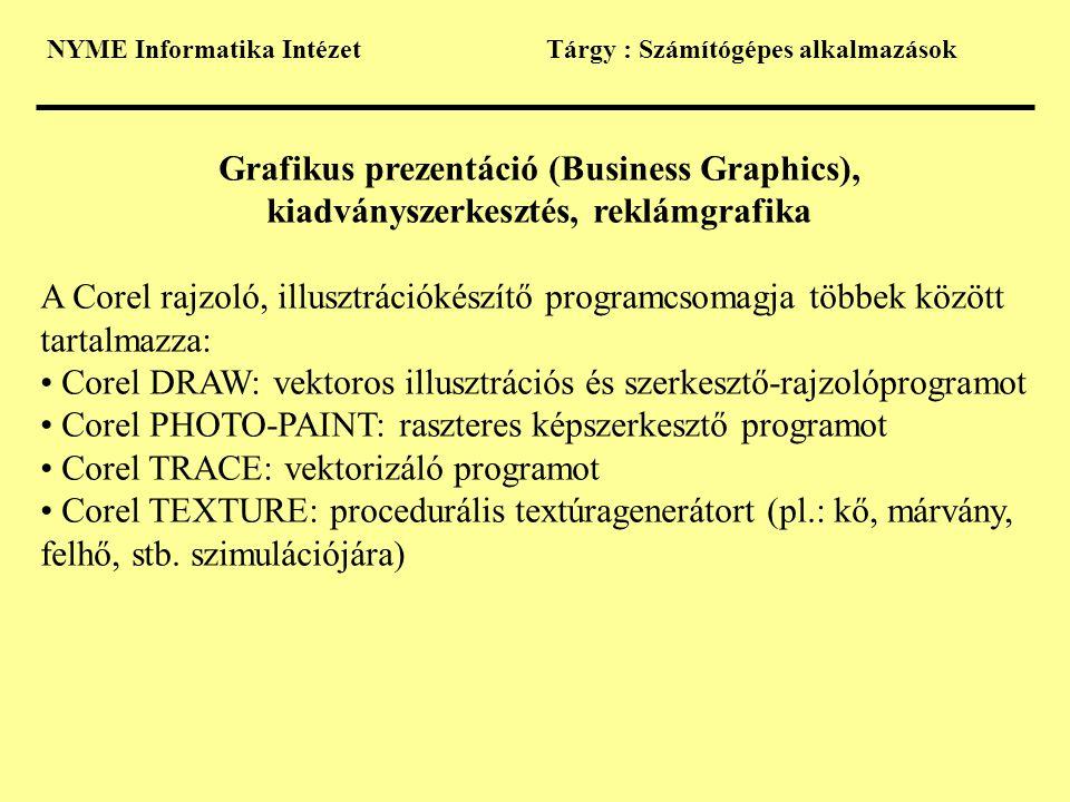 Grafikus prezentáció (Business Graphics),