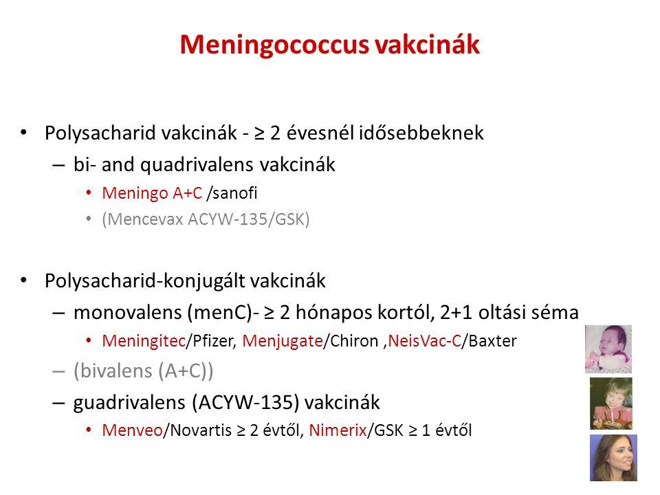Meningococcus vakcinák