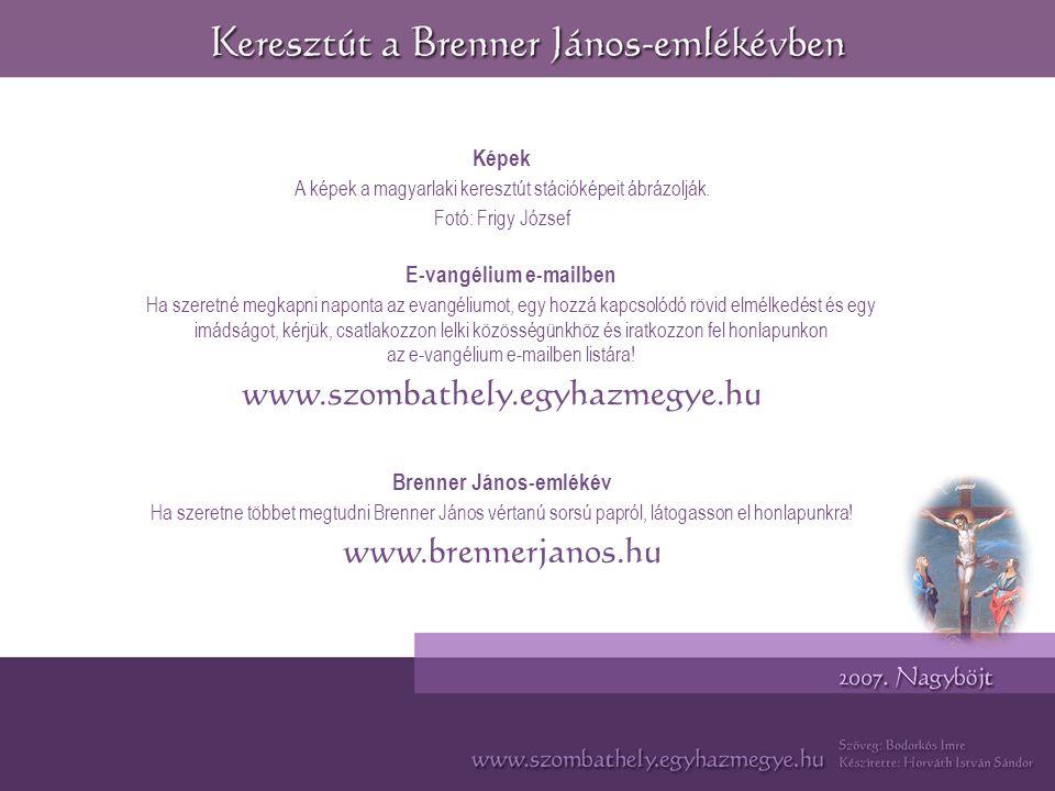 E-vangélium e-mailben Brenner János-emlékév