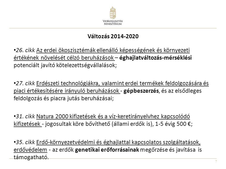 Változás 2014-2020