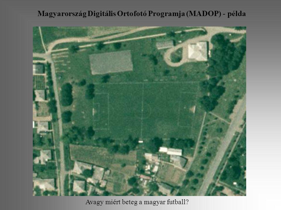 Magyarország Digitális Ortofotó Programja (MADOP) - példa