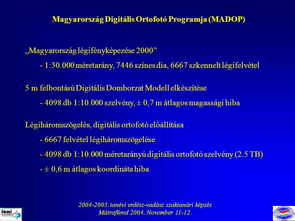 Magyarország Digitális Ortofotó Programja (MADOP)