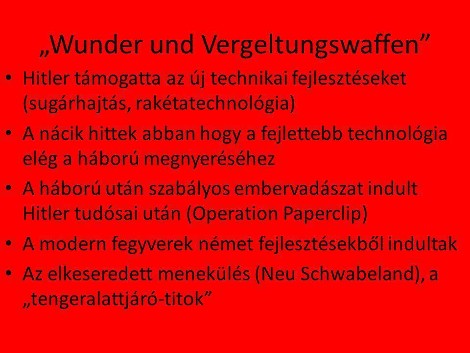 """""""Wunder und Vergeltungswaffen"""