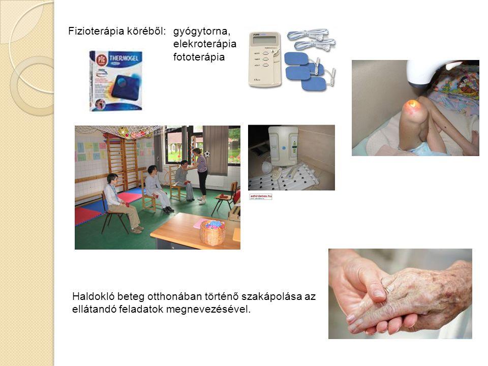 Fizioterápia köréből: gyógytorna,