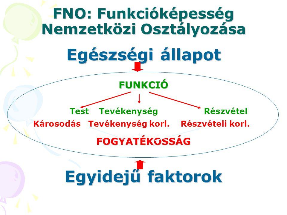 FNO: Funkcióképesség Nemzetközi Osztályozása