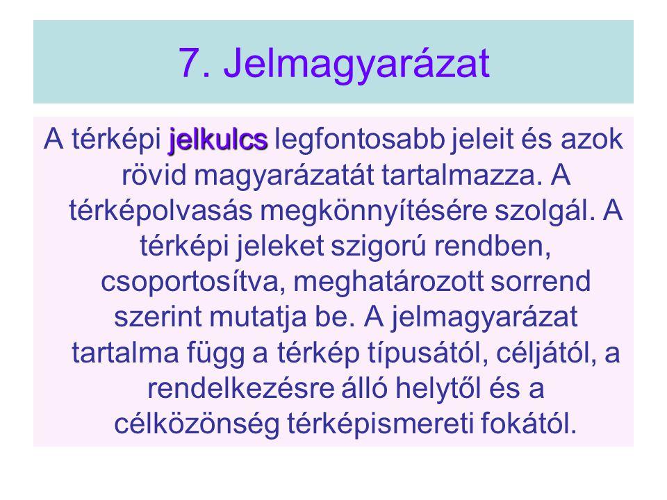 7. Jelmagyarázat