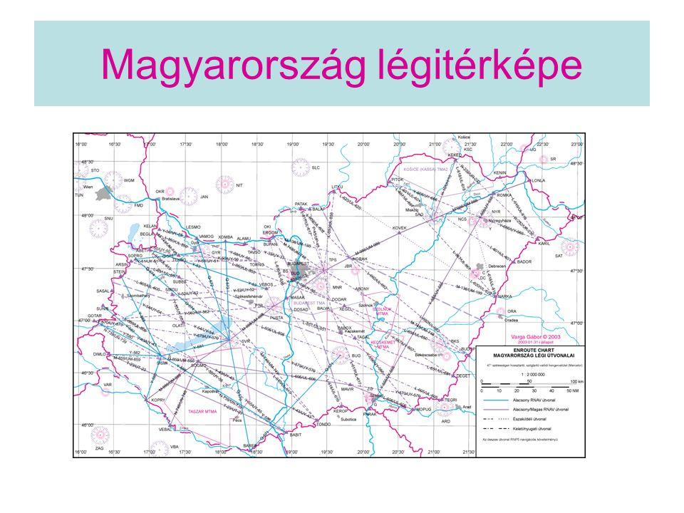 Magyarország légitérképe