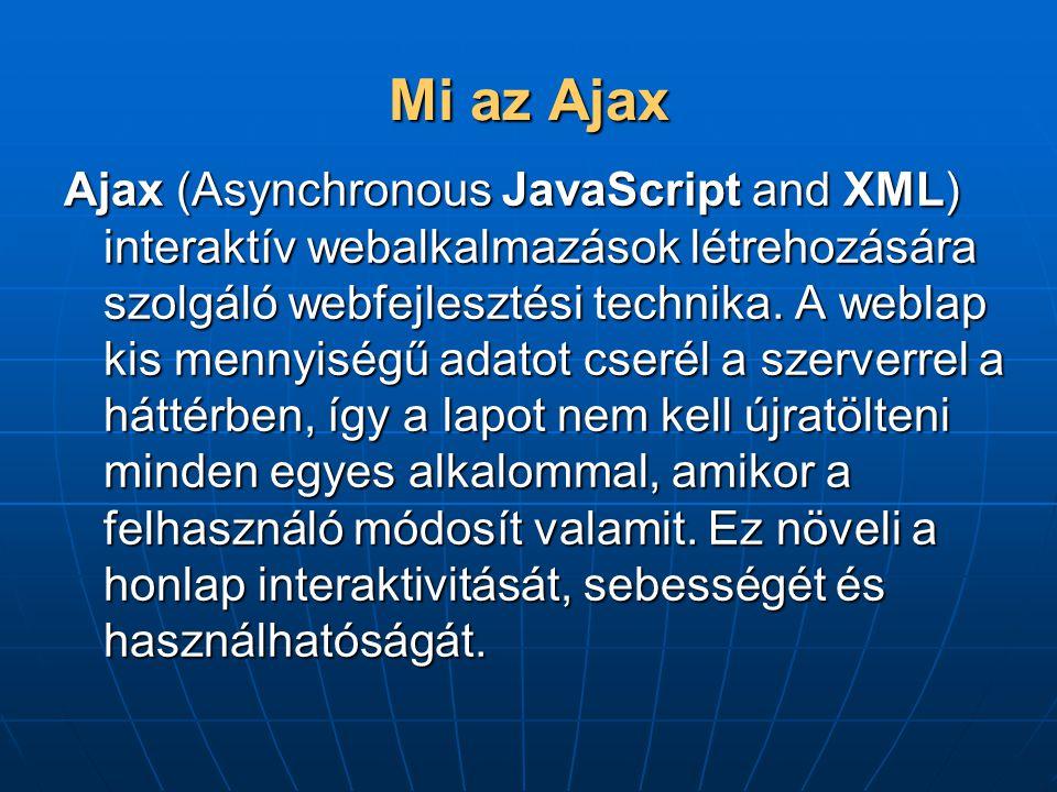 Mi az Ajax