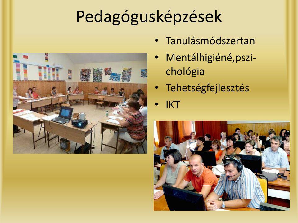 Pedagógusképzések Tanulásmódszertan Mentálhigiéné,pszi-chológia