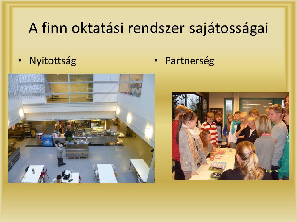 A finn oktatási rendszer sajátosságai