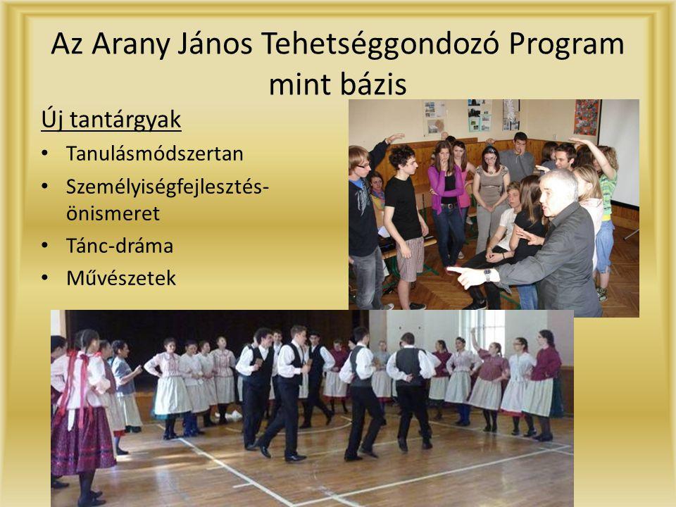 Az Arany János Tehetséggondozó Program mint bázis