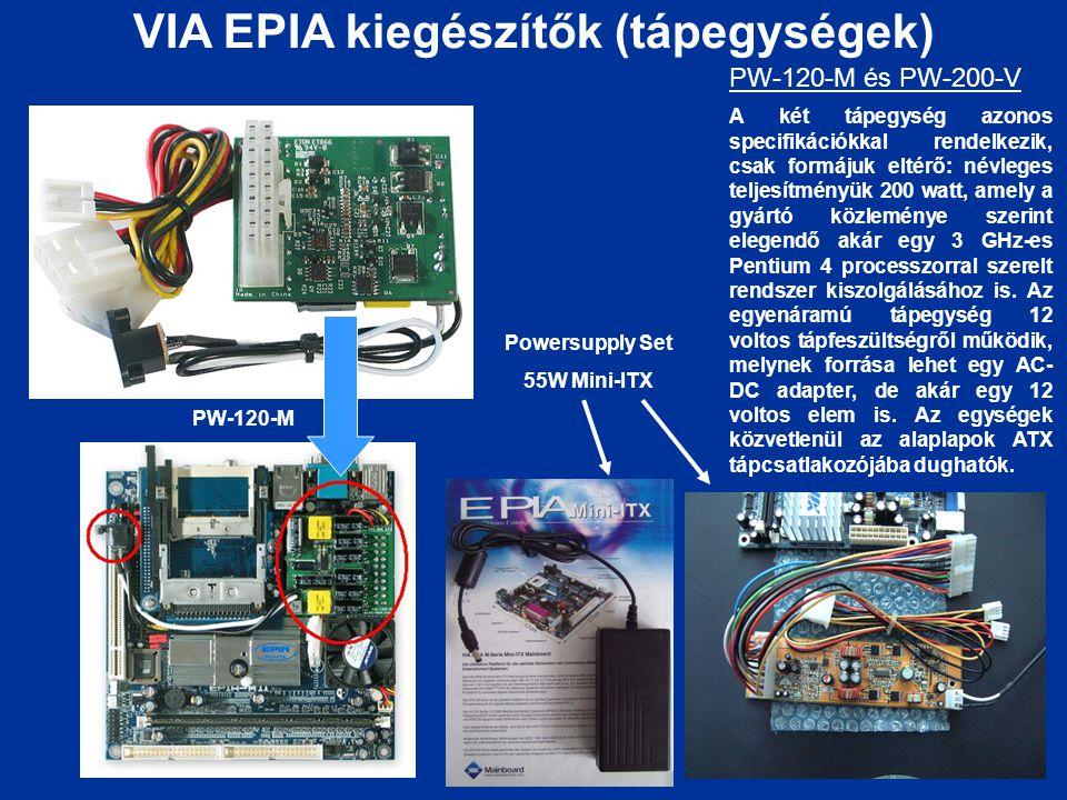 VIA EPIA kiegészítők (tápegységek)
