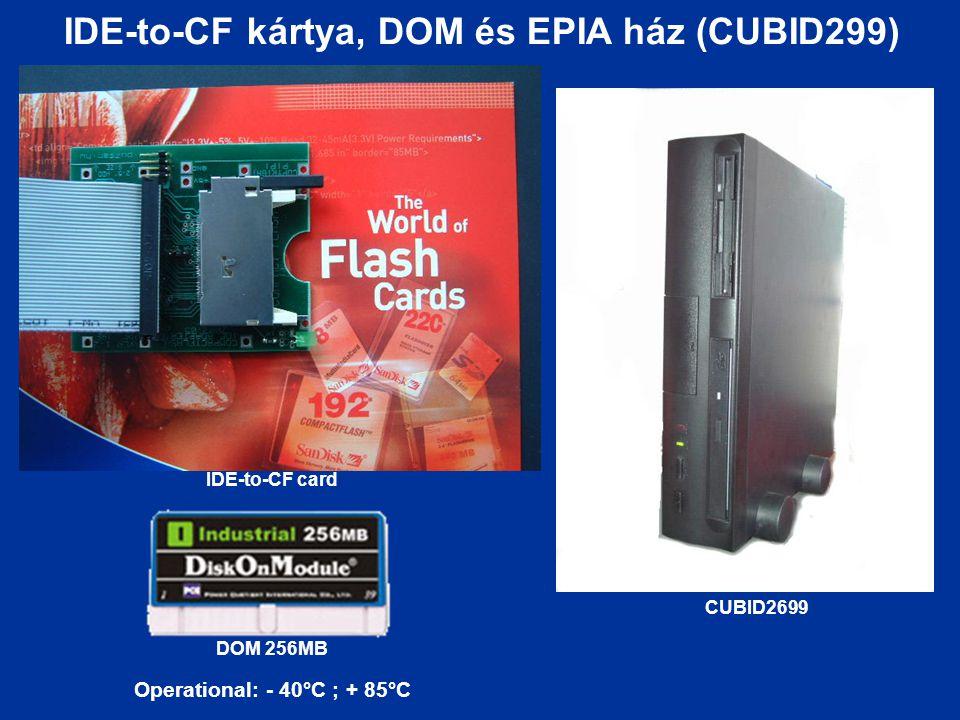 IDE-to-CF kártya, DOM és EPIA ház (CUBID299)