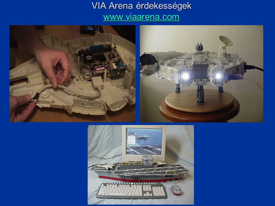 VIA Arena érdekességek www.viaarena.com