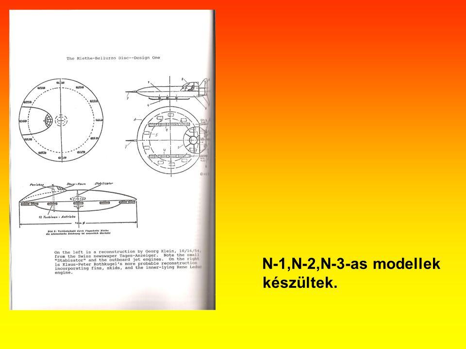 N-1,N-2,N-3-as modellek készültek.