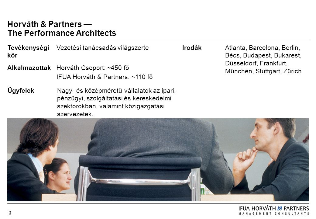 Horváth & Partners — The Performance Architects