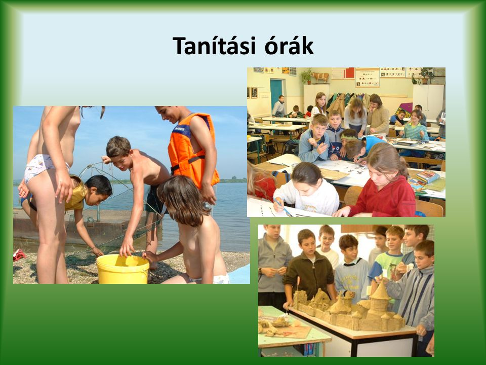 Tanítási órák