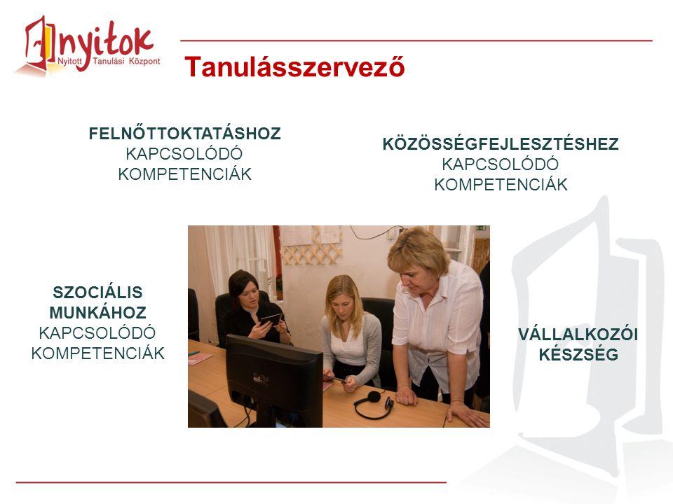 Tanulásszervező FELNŐTTOKTATÁSHOZ KAPCSOLÓDÓ KOMPETENCIÁK