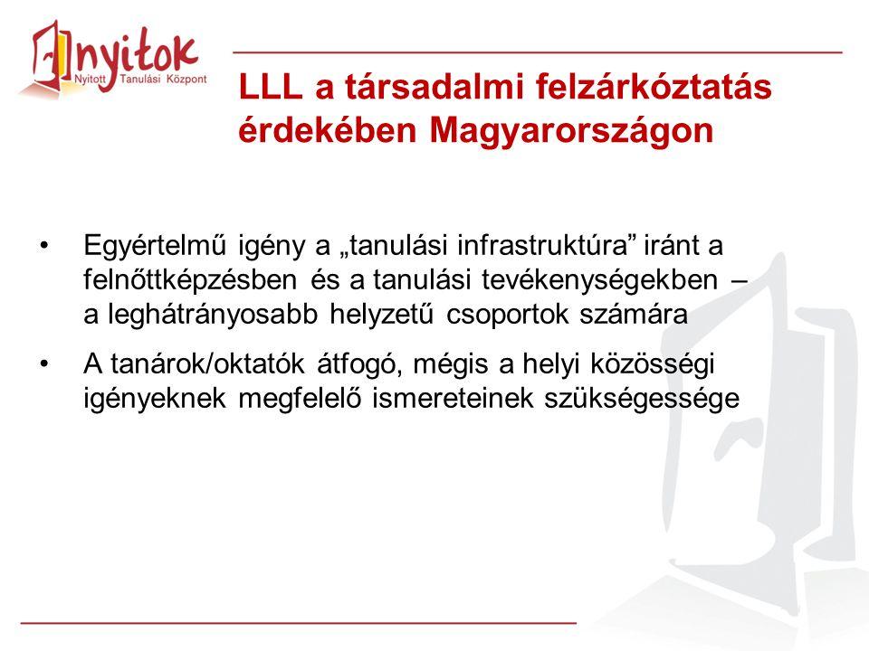 LLL a társadalmi felzárkóztatás érdekében Magyarországon