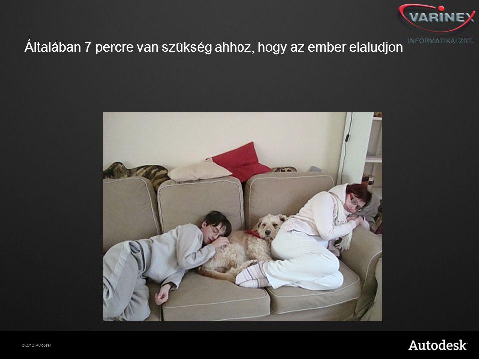 Általában 7 percre van szükség ahhoz, hogy az ember elaludjon