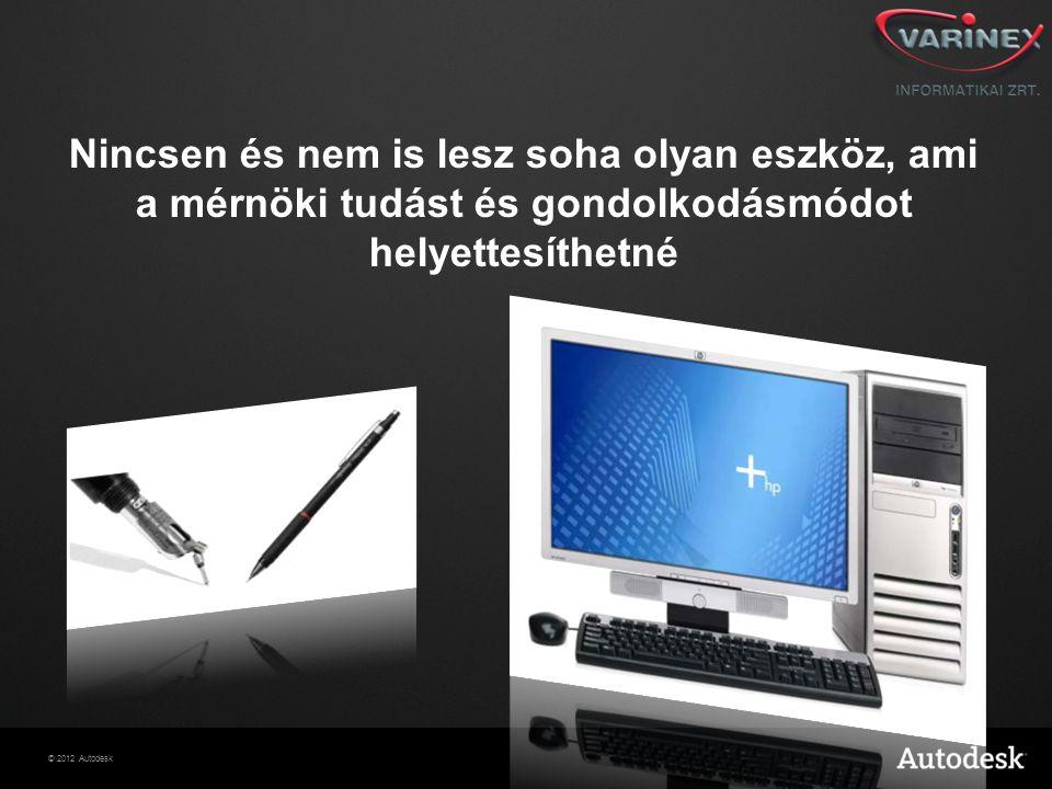 Nincsen és nem is lesz soha olyan eszköz, ami a mérnöki tudást és gondolkodásmódot helyettesíthetné