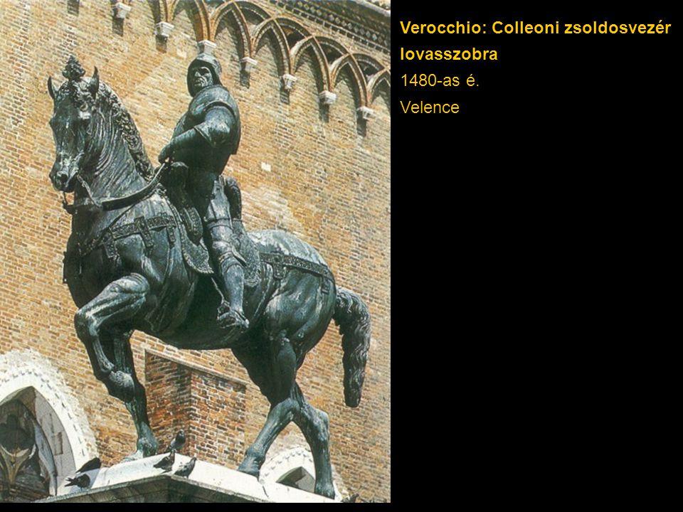 Verocchio: Colleoni zsoldosvezér