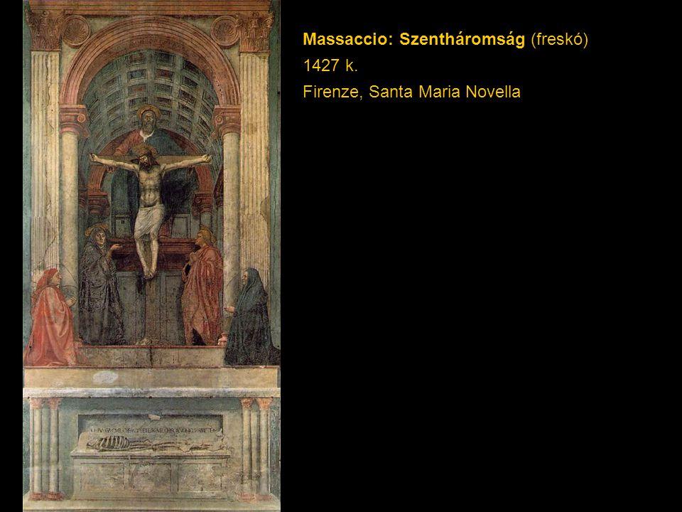 Massaccio: Szentháromság (freskó)