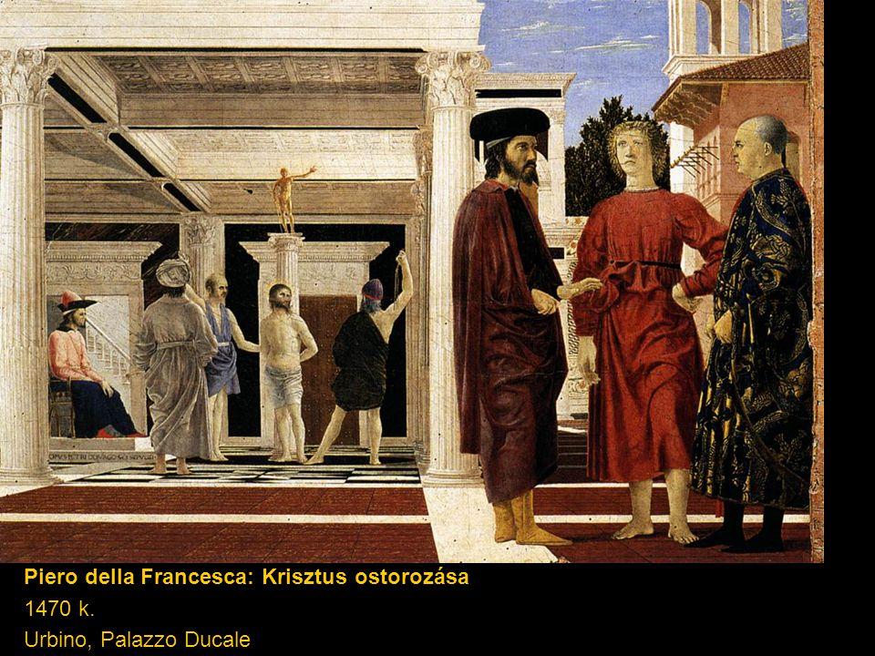 Piero della Francesca: Krisztus ostorozása
