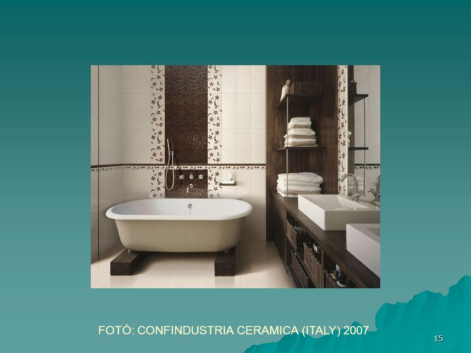 FOTÓ: CONFINDUSTRIA CERAMICA (ITALY) 2007