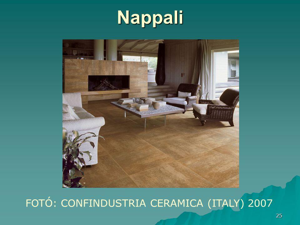 Nappali FOTÓ: CONFINDUSTRIA CERAMICA (ITALY) 2007