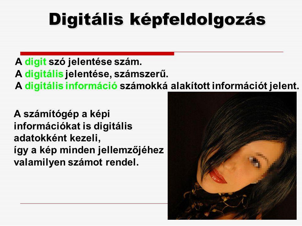 Digitális képfeldolgozás