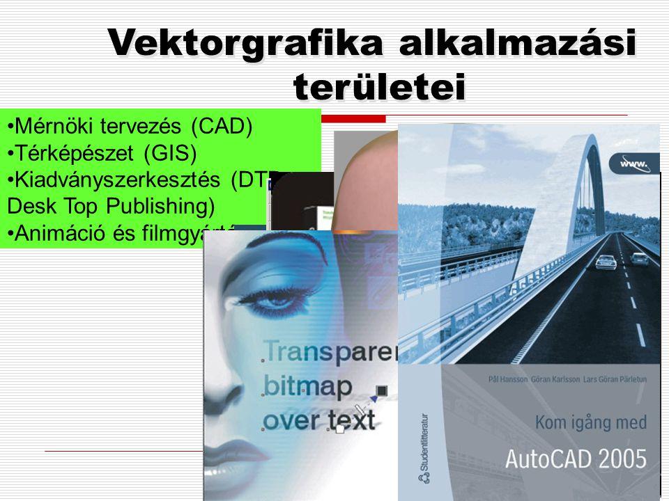 Vektorgrafika alkalmazási